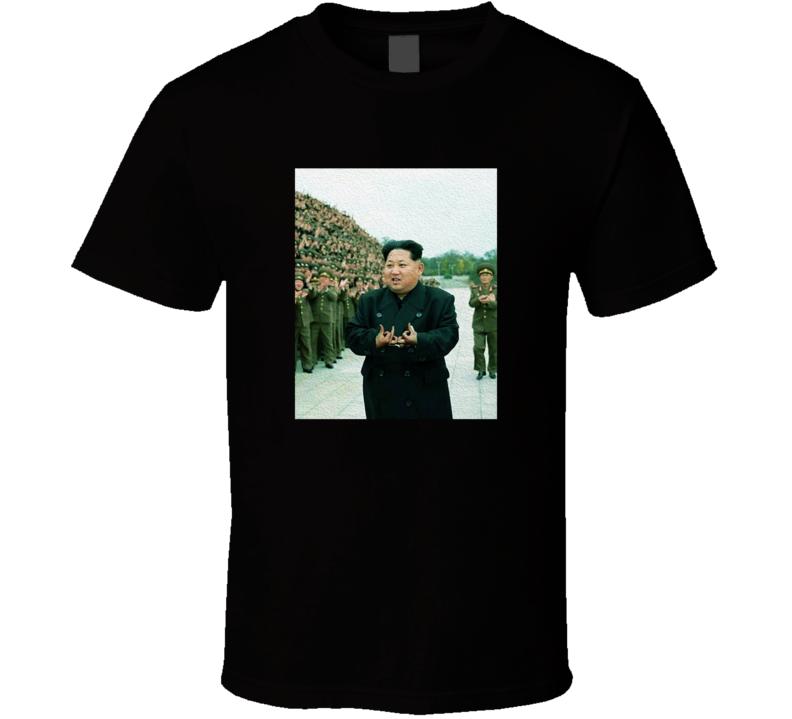 Kim Jong Un Blood Gang Funny Political Humor T Shirt