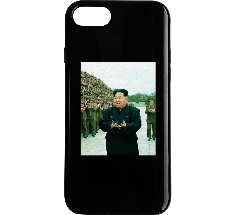 Kim Jong Un Blood Gang Funny Political Humor Phone Case