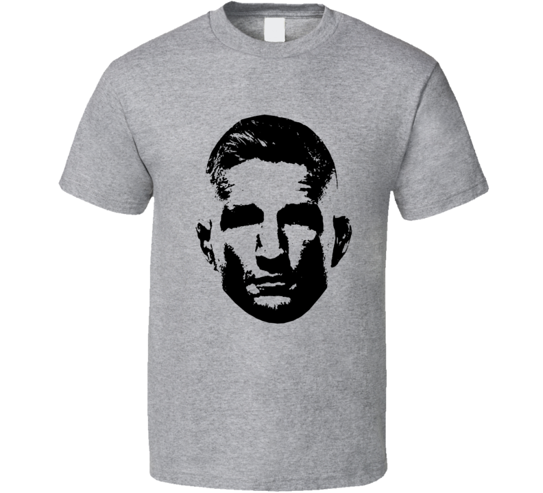 Tj Dillashaw Big Head Silhouette Mma Fighter Fan T Shirt