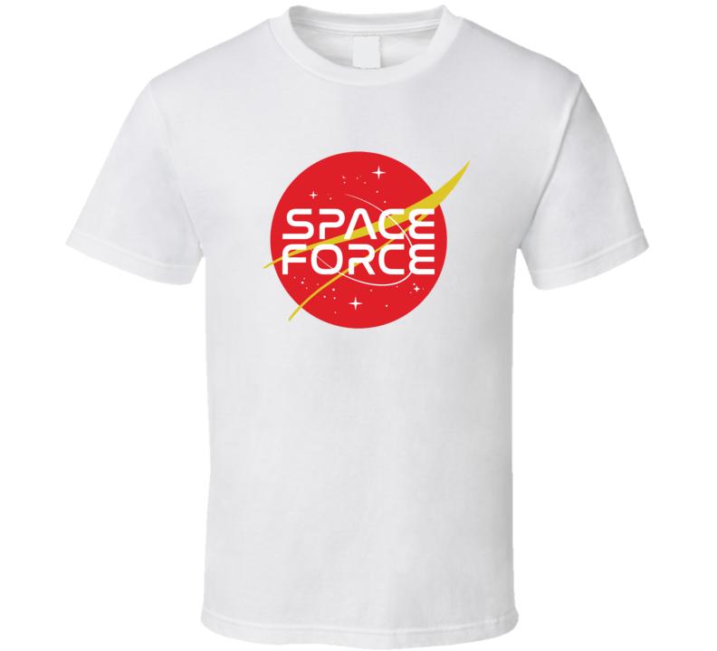 Usa Space Force Donald Trump American America T Shirt