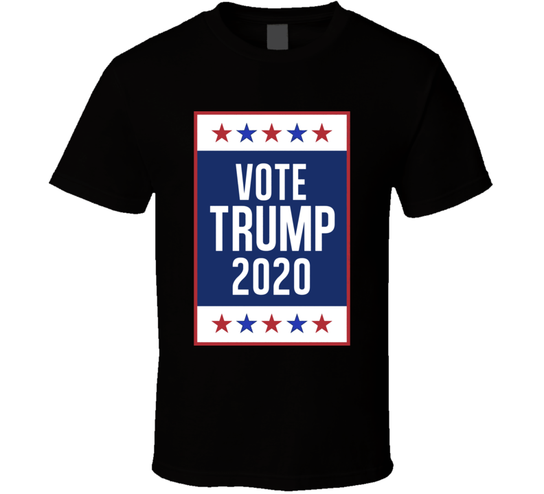 Vote Donald Trump For President 2020 Usa Election T Shirt