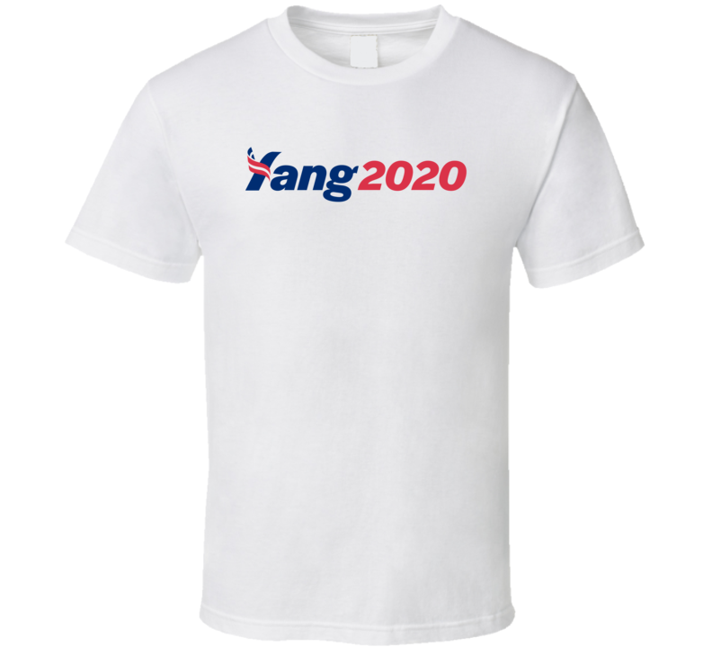 Andrew Yang 2020 Usa American Presidential Election T Shirt