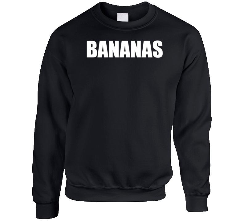 Mike And Dave Need Wedding Dates Bananas Movie Crewneck Sweatshirt