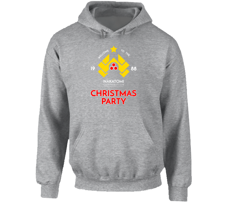Nakatomi Corporation Christmas Party 1988 Cool Die Hard Action Movie Hoodie