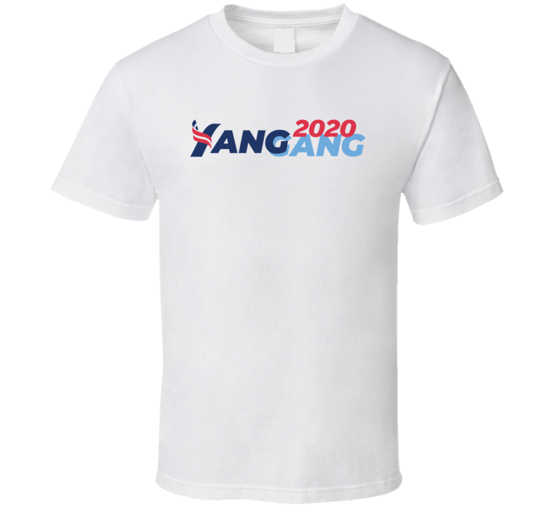 Andrew Yang Gang 2020 Presidential Election T Shirt