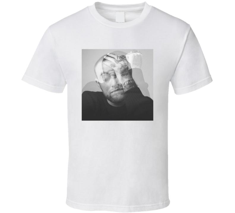 Mac Miller Circles Album Cover Rap Hip Hop Music Fan Cool T Shirt