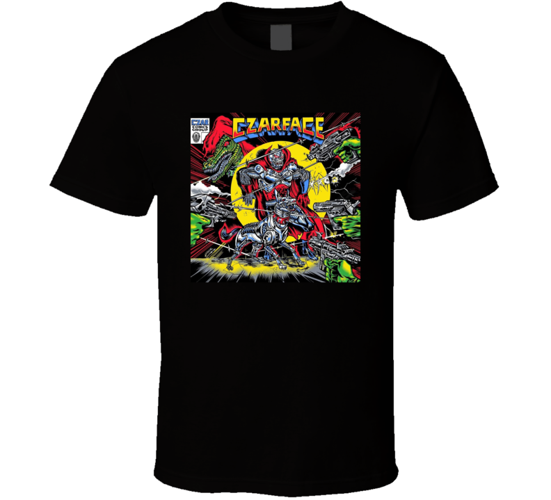 Czarface The Odd Czar Against Us Rap Hip Hop Music Fan T Shirt