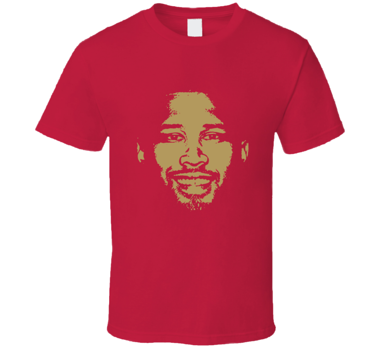 Deforest Buckner Big Head Silhouette San Francisco Football Fan T Shirt