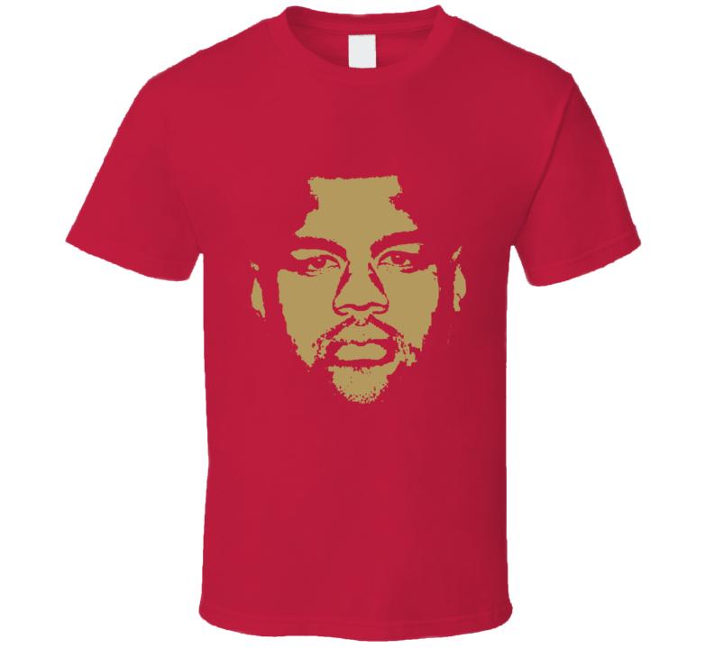 Arik Armstead Big Head Silhouette San Francisco Football Fan T Shirt