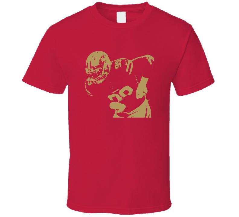 Deforest Buckner Silhouette San Francisco Football Fan T Shirt