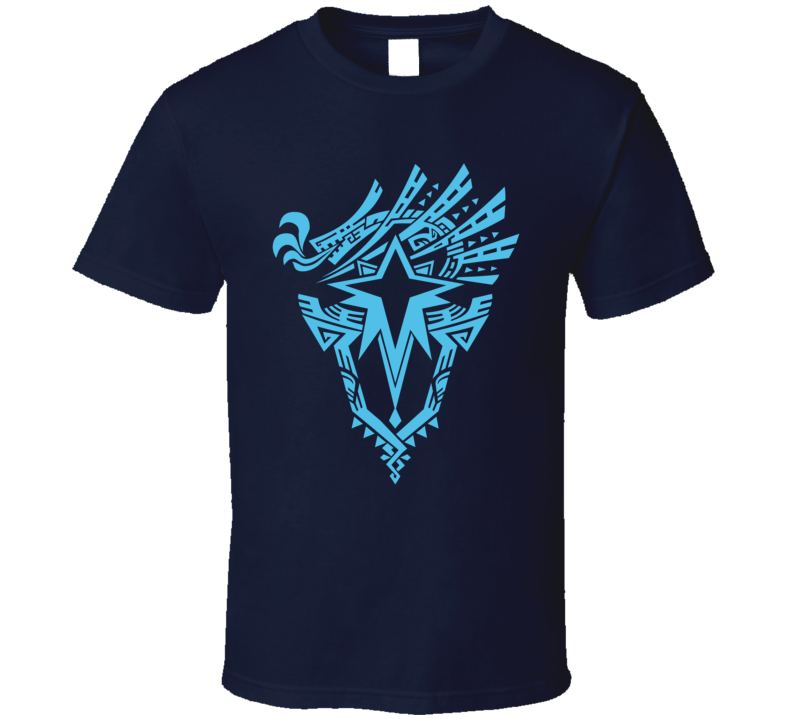 Monster Hunter World Iceborne Emblem Video Game Gamer T Shirt