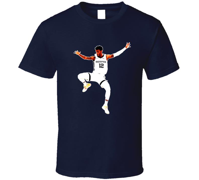 Ja Morant Memphis Basketball Sports Team Fan T Shirt