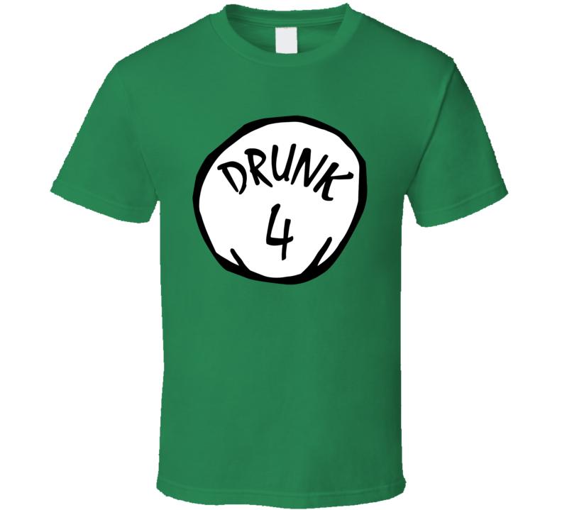 Drunk 1 2 3 4 5 6 Funny St Patricks Day T Shirt