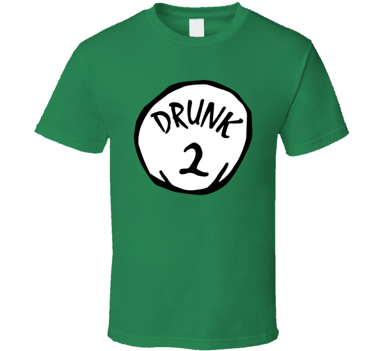 Drunk 1 2 3 4 5 6 Funny St Patricks Day Party Humor T Shirt