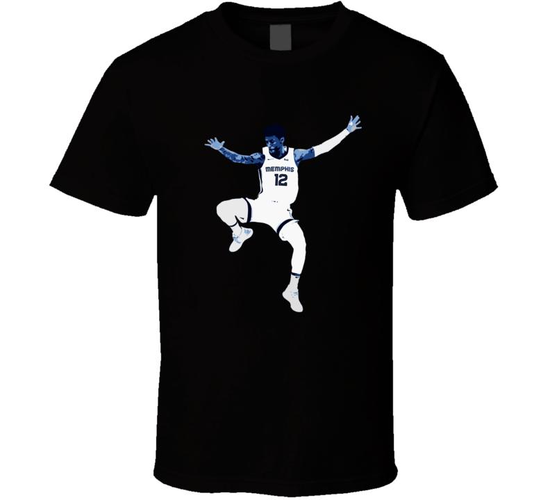 Ja Morant Cool Memphis Basketball Sports Team Fan T Shirt