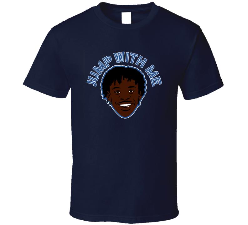 Jump With Me Ja Morant Cool Memphis Basketball Fan T Shirt