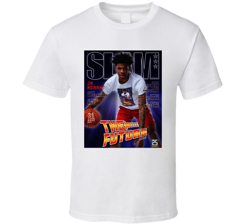 Ja Morant The Future Slam Magazine Basketball Fan T Shirt