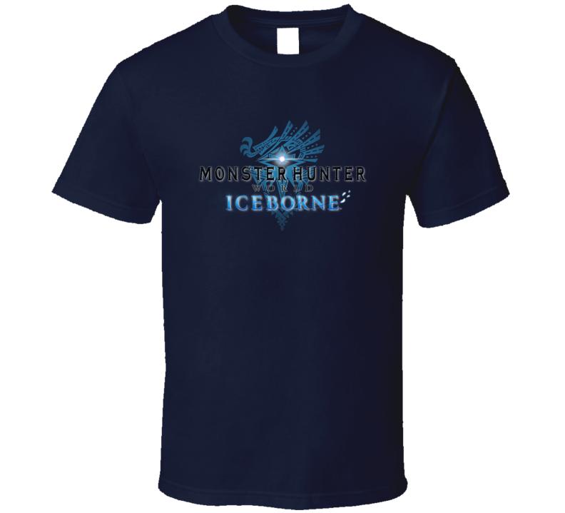 Monster Hunter World Iceborne Video Game Gamer T Shirt