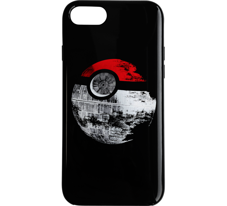 Pokeball Death Star Funny Pokemon Star Wars Mashup Parody Phone Case