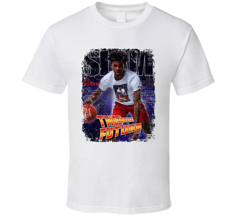 Ja Morant The Future Slam Magazine Basketball Fan Cool T Shirt