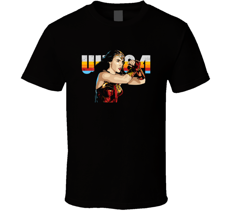 Wonder Woman 1984 Ww84 Cool Superhero Movie T Shirt