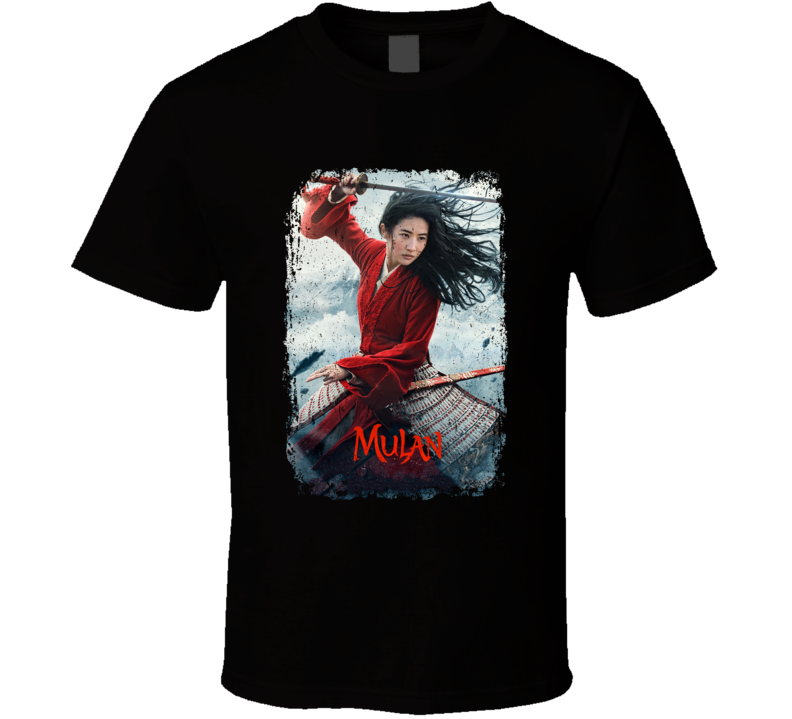 Mulan 2020 Cool Movie Fan Distressed Style T Shirt
