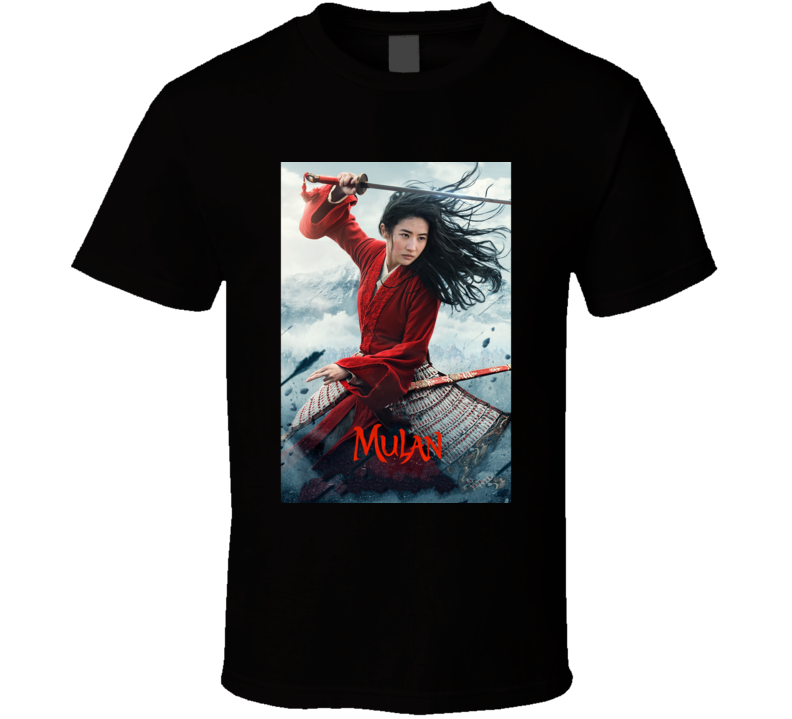 Mulan 2020 Cool Movie Fan T Shirt