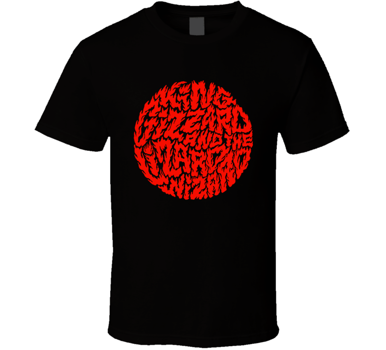 King Gizzard And The Lizard Wizard Infest The Rats Nest Metal Music Fan T Shirt