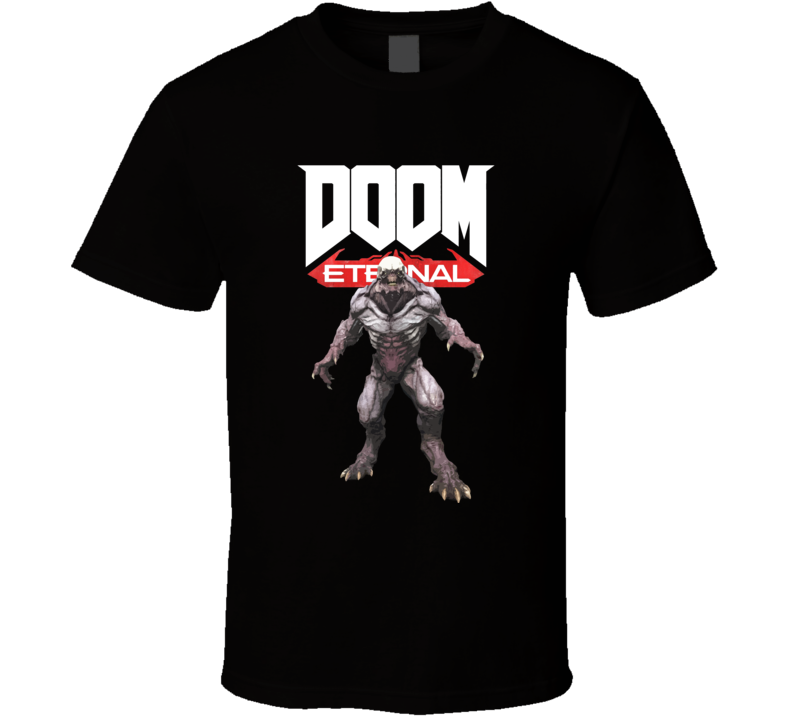 Varon Of Hell Doom Eternal Shooter Video Game Gamer T Shirt