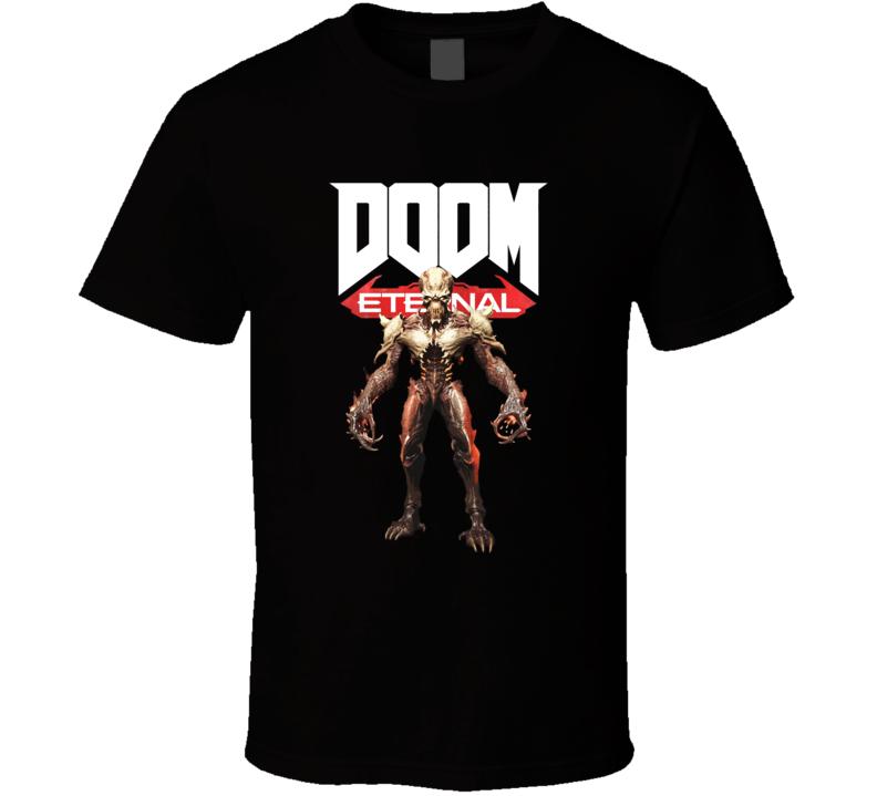 Arch Vile Doom Eternal Shooter Video Game Gamer T Shirt