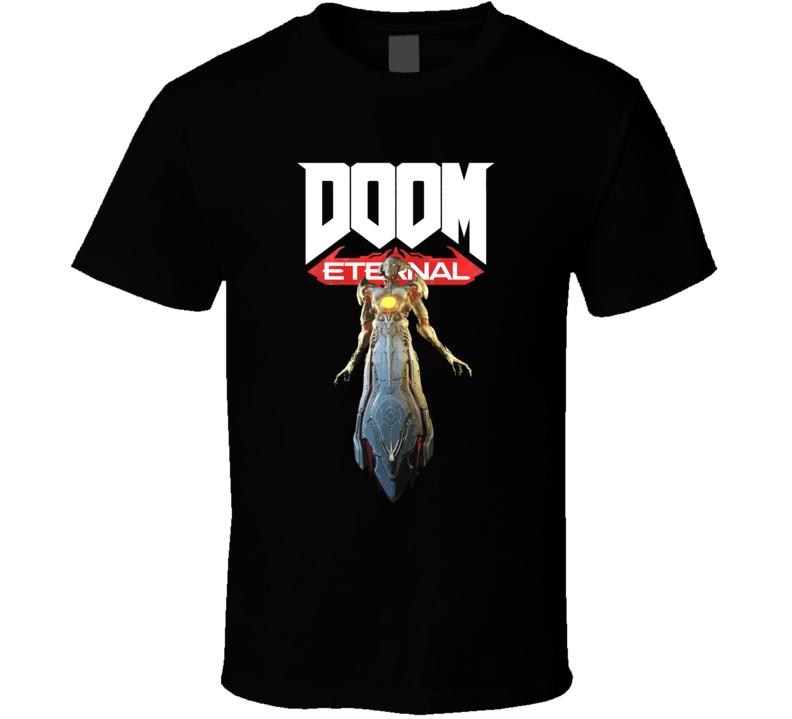 Khan Maykr Doom Eternal Shooter Video Game Gamer T Shirt