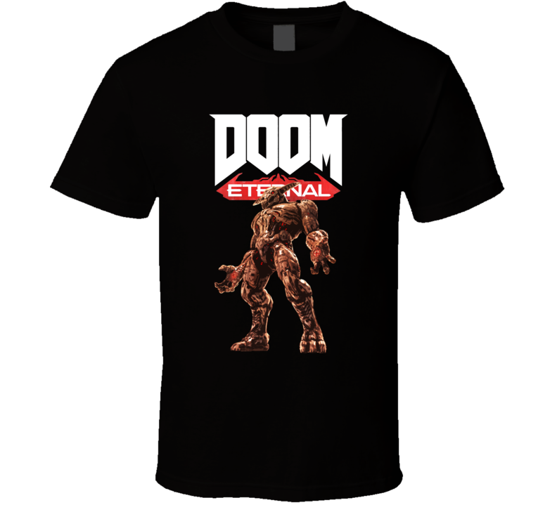 Icon Of Sin Doom Eternal Shooter Video Game Gamer T Shirt