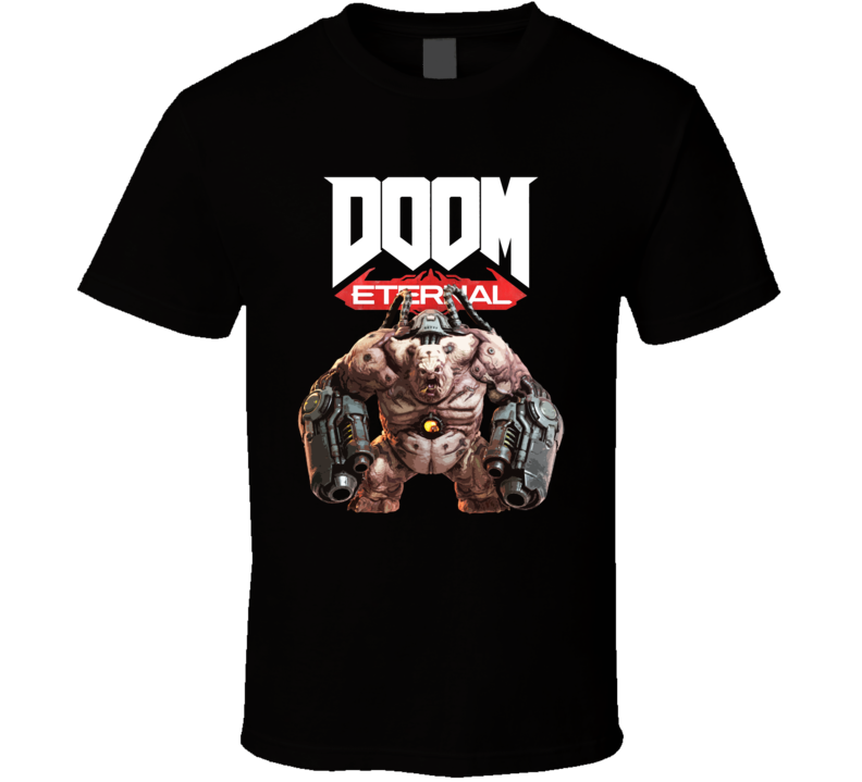 Mancubus Doom Eternal Shooter Video Game Gamer T Shirt