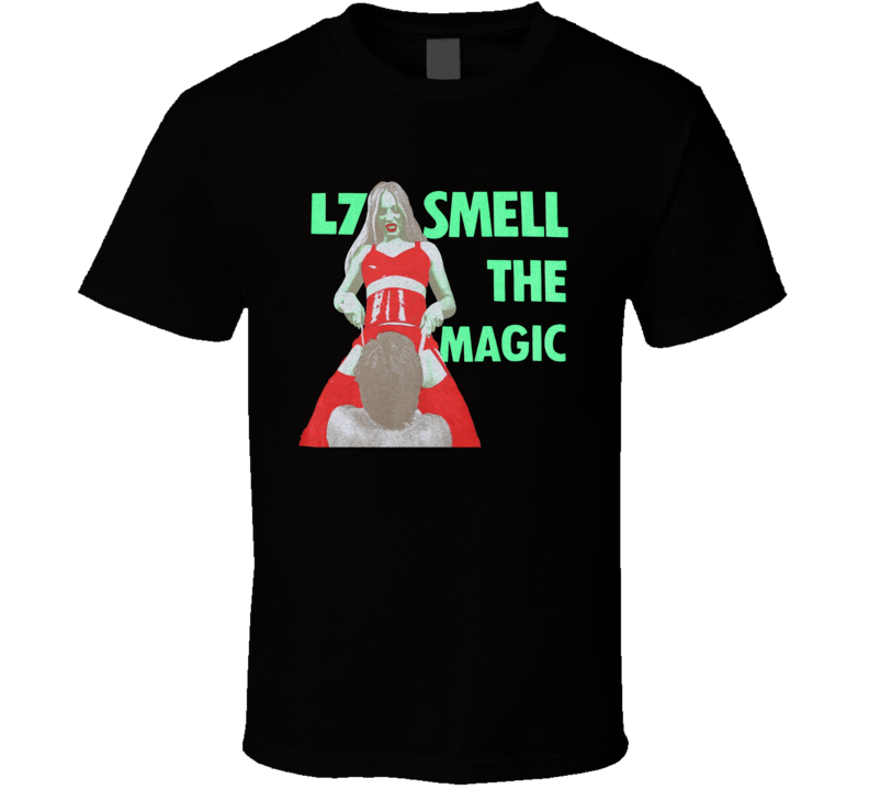 L7 Smell The Magic Grunge Music Fan Retro T Shirt