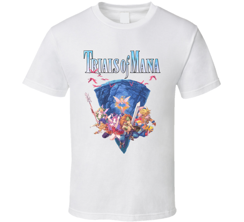 Trials Of Mana Video Game Gamer Cool T Shirt