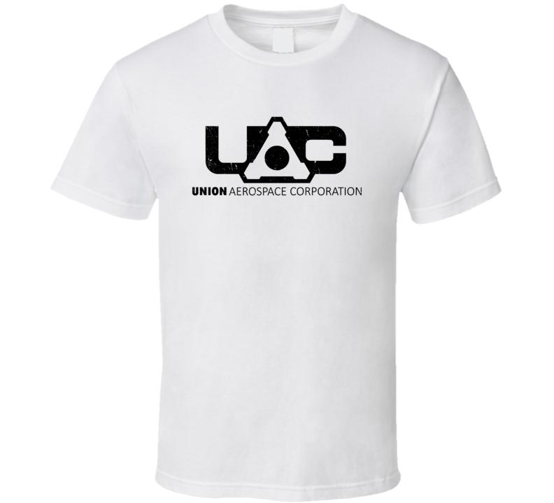 Union Aerospace Corporation Doom Video Game Cool Gamer T Shirt