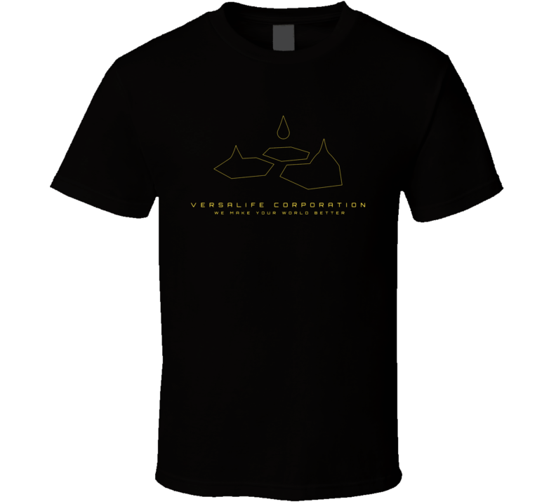 Versalife Corporation Deus Ex Video Game Gamer T Shirt