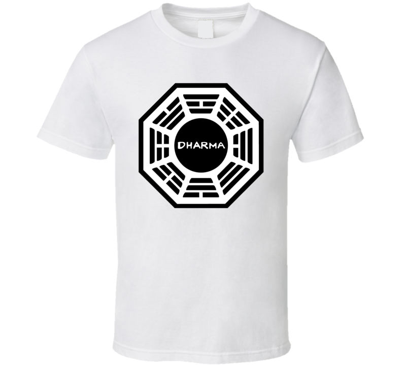 The Dharma Initiative Lost Tv Show Fan T Shirt