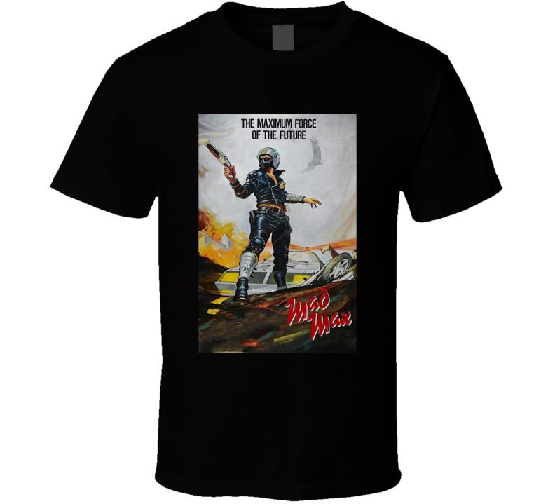 Mad Max 1979 Science Fiction Sci Fi Movie Fan Retro T Shirt
