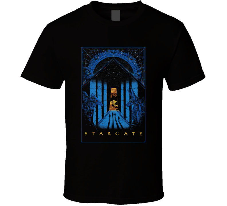 Stargate 1994 Science Fiction Sci Fi Movie Fan Retro T Shirt