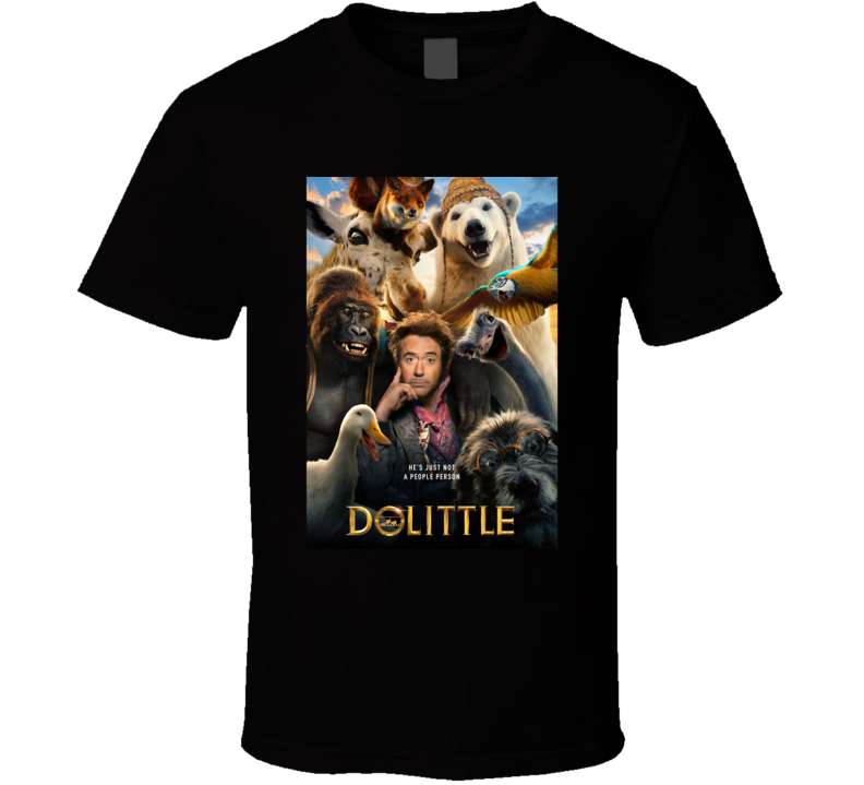 Dolittle Movie  Fan T Shirt