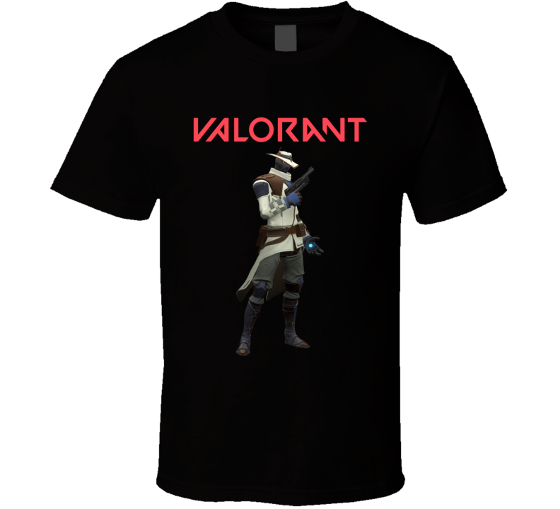 Cypher Valorant Video Game Cool Gamer T Shirt