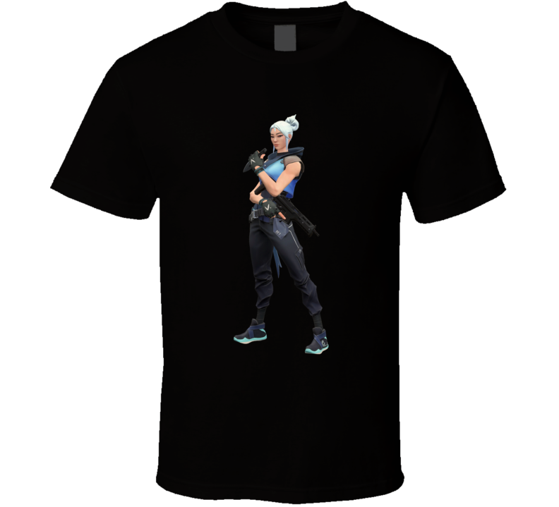 Jett Valorant Video Game Cool Gamer T Shirt