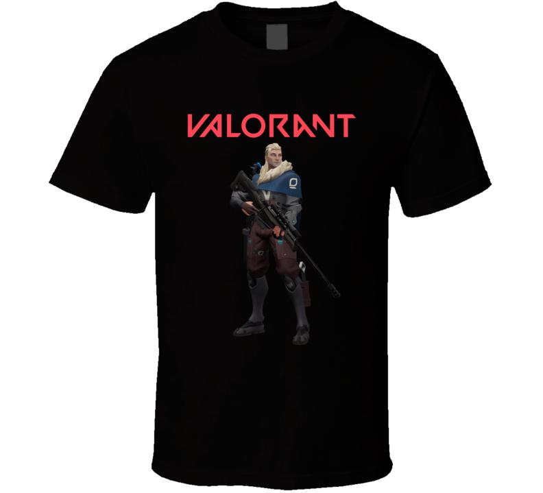 Sova Valorant Video Game Gamer T Shirt