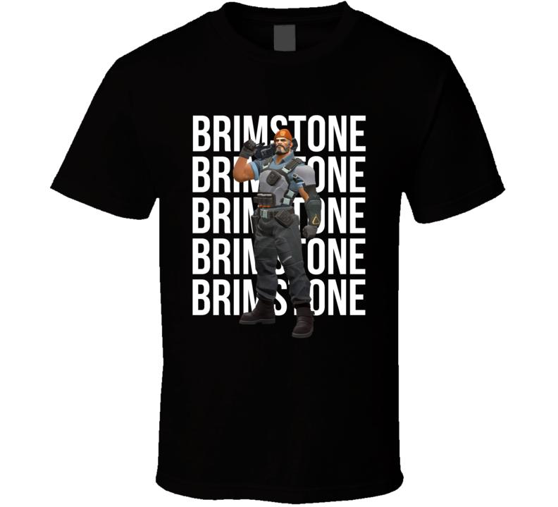 Brimstone Valorant Agent Video Game Cool Gamer T Shirt