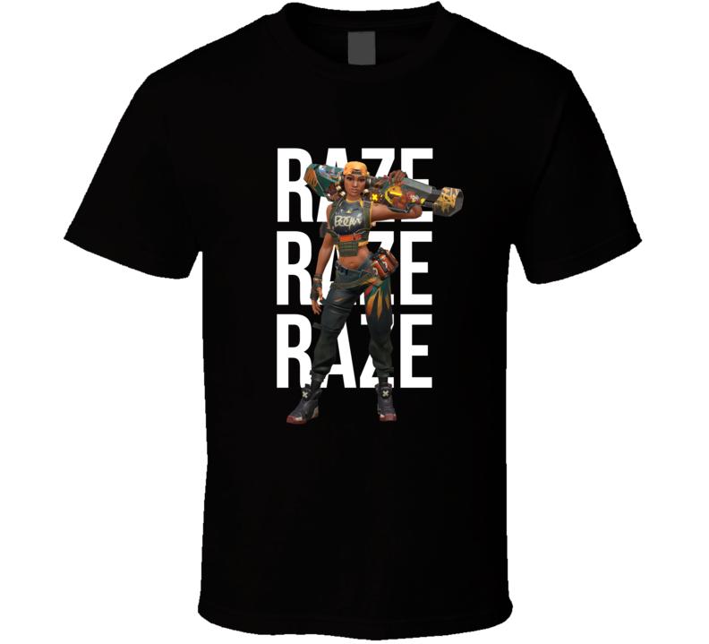Raze Valorant Agent Video Game Cool Gamer T Shirt