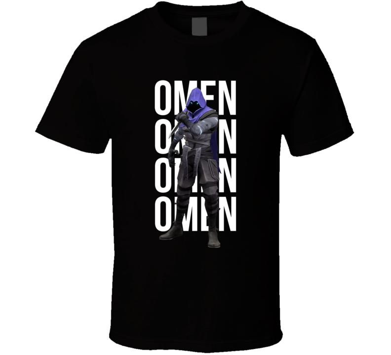 Omen Valorant Agent Video Game Cool Gamer T Shirt