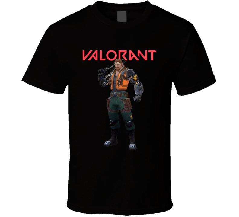 Breach Valorant Video Game Cool Gamer T Shirt
