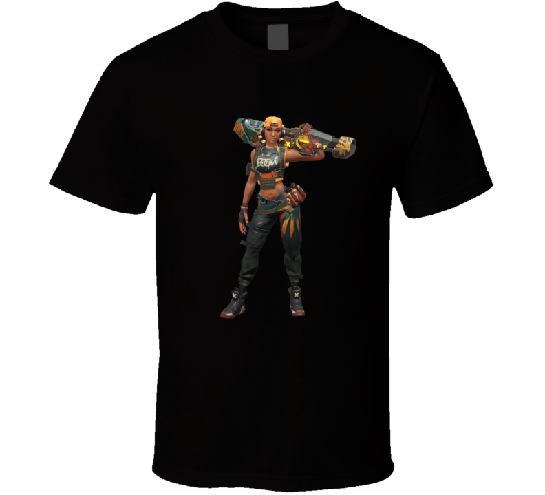 Raze Valorant Video Game Gamer T Shirt