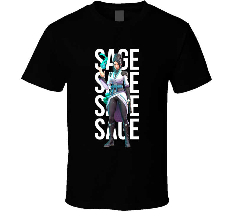 Sage Valorant Agent Video Game Cool Gamer T Shirt